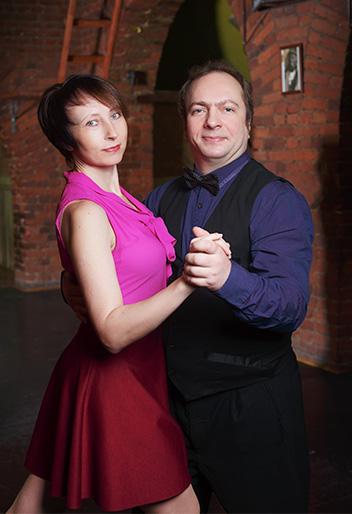 Мария Панарина и Алексей Губочкин