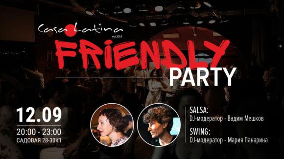 Friendly Party Casa Latina